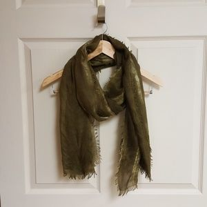 Accessories - Army green scarf